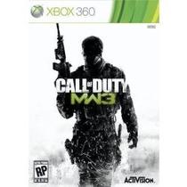 Jogo Call Of Duty Modern Warfare 3 Pra Xbox 360 Manual Em Pt