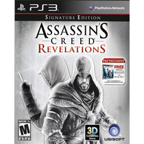 Assassins Creed Revelations Signature Edition + Ac1 Ps3 Novo