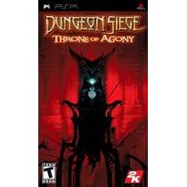 Jogo Dungeon Siege Throne Of Agony Favorites Para Psp