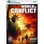 Game World In Conflict Pc Dvd Novo Original Lacrado