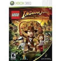 Jogo Pra Xbox 360 Lego Indiana Jones The Original Adventures