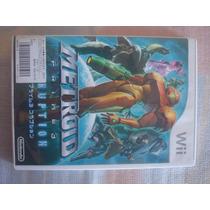 Metroid Prime 3 Corruption Nintendo Wii Jogo Game Original U