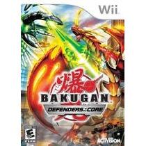 Jogo Bakugan Defenders Of The Core Lacrado Para Nintendo Wii