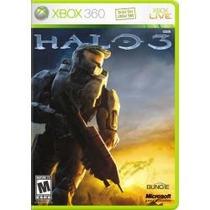 Jogo Microsoft Lacrado Halo 3 Xbox 360 Totalmente Portugues