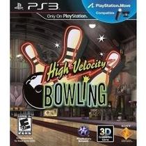 Jogo Semi Novo Compativel Move, High Velocity Bowling 3d Ps3
