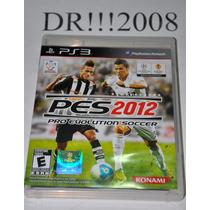 Pes 2012 Original E Completo Para Ps3!!!