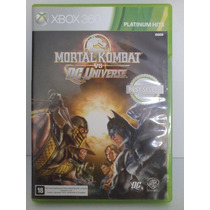 Mortal Kombat Vs Dc Universe - Xbox 360 (semi-novo)