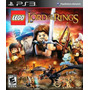Ps3 - Lego The Lord Of The Rings - Alemão Games
