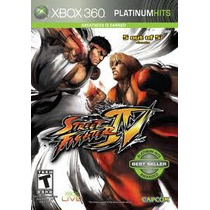 Jogo Ntsc Street Fighter Iv Platinum Hits Para Xbox 360