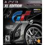 Gran Turismo 5 Xl Edition 3d Gt 5 Em Portugês Bonus U$ 20