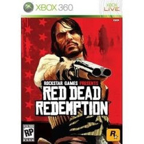 Red Dead Redemption - Xbox 360 - Pal Seminovo Otimo Estado
