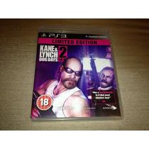 Kane & Lynch Dog Days 2 Limited Edition