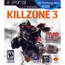 Killzone 3 Em Português Brasil - Ps3 - Mídia Física