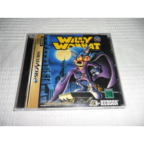 Willy Wombat Completo P/ Sega Saturn Impecável - Raro