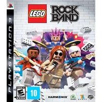 Jogo P/ Ps3 Lego Rock Band (lacrado)