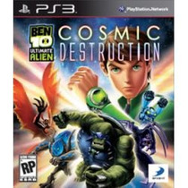 Jogo Ben 10 Ultimate Alien Cosmic Destruction Ps3 Americano