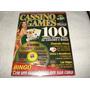 Revista Cd Expert Game Cassino Games 100 Jogos