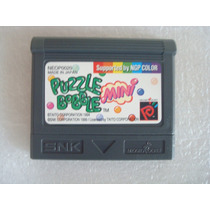 Puzzle Bobble Mini - Neo Geo Pocket Color- Snk Game Ngp Jogo