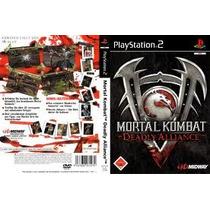 Ps2 Mortal Kombat Deadly Alliance ( Original )