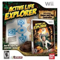 Box Active Life Explorer Nintendo Wii Incluso Tapete E Jogo
