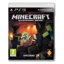 Minecraft Ps3 Português Lacrado Original - Mídia Física