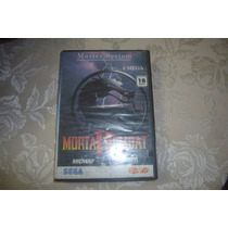Cartucho / Fita+capa Mortal Kombat Ii P/ Master System!!!