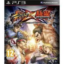 Jogo Da Capcom Street Fighter Vs Tekken Para Ps3 Playstation