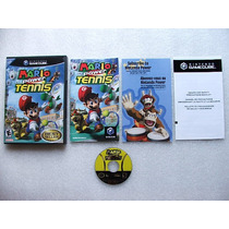 Game Cube: Mario Power Tennis Completo + Extras! Raríssimo!