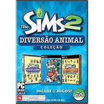 Coleção The Sims 2 Diversão Animal Pra Pc Original Portugues