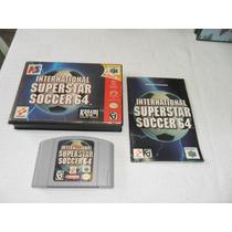 International Super Star Soccer 64 P/ Nintendo 64 - Raro