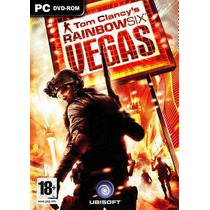 Jogo Pc Original Rainbow Six Vegas Original Lacrado!!!