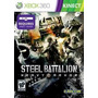 Jogo Steel Battalion Heavy Armor Para Xbox 360 Requer Kinect
