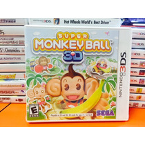 Jogo Super Monkey Ball 3d Nintendo 3ds Lacrado, Original