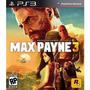 Jogo Com Legendas Em Português Rockstar Max Payne 3 Pra Ps3