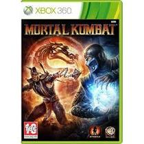 Jogo Ntsc Americano Lacrado Mortal Kombat 9 Para Xbox 360