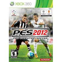 Pes 2012 Pro Evolution Soccer Para Xbox 360 Seminovo
