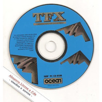 Cd-rom Tfx - Tactical Fighters Exp. ( Pc, Games, Simulador)