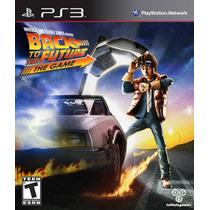 Back To The Future The Game Ps3 De Volta Para O Futuro Novo
