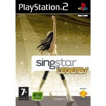 Ps2 Singstar Legends ( Jogo Original )
