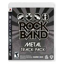 Jogo Ps3 Rockband Metal Track Original Novo Lacrado 80 Reais