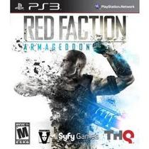 Jogo Red Faction Armageddon Para Ps3 Original Americano