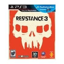 Resistance 3 Ps3.original E Lacrado.