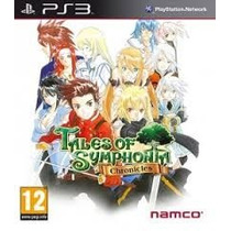 Tales Of Symphonia Chronicles Ps3 Lacrado Original Midia Fis