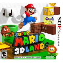 Super Mario 3d Land Nintendo3ds Original Novo Lacradoabgames