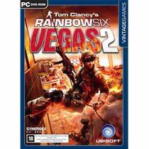 Game Rainbow Six Vegas 2 Pc Novo Original Lacrado