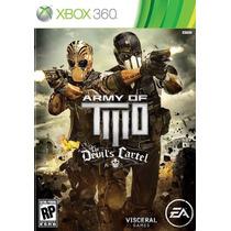 Army Of Two: Devil´s Cartel - Xbox 360 - Original Lacrado!