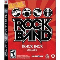 Jogo Rock Band Track Pack Volume 2 Para Ps3 , Americano