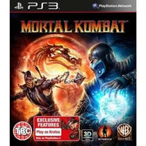 Jogo Para Ps3 Playstation 3 Lacrado Mortal Kombat 3d Kratos