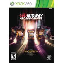 Jogo Novo Midway Arcade Origins Para Xbox 360 Ntsc
