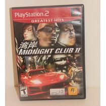 Jogo Ps2 - Midnight Club Ii